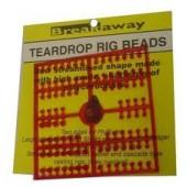 Break away teardrops rig beads